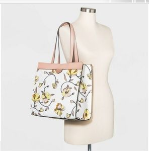 Floral print boxy tote handbag New Day